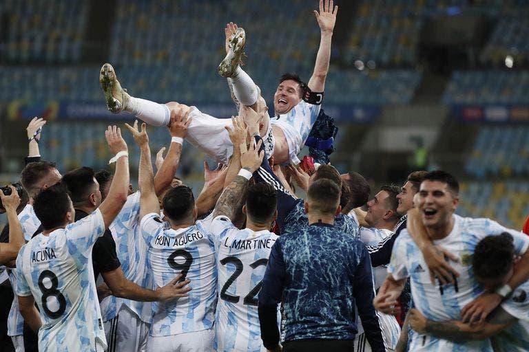 Argentina le ganó 1-0 a Brasil