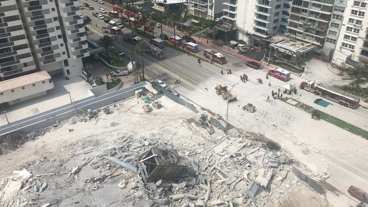 Finalizan recuperación cuerpos de derrumbe Miami