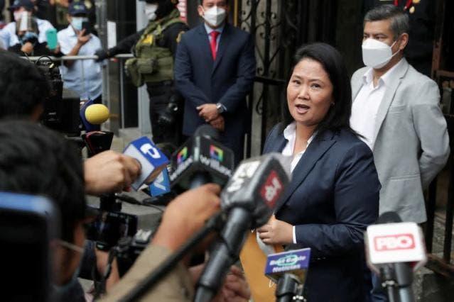 Fiscal anticorrupción investiga a Keiko Fujimori por audios de Montesinos