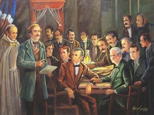 Hoy se cumplen 183 aniversario de fundación de La Trinitaria