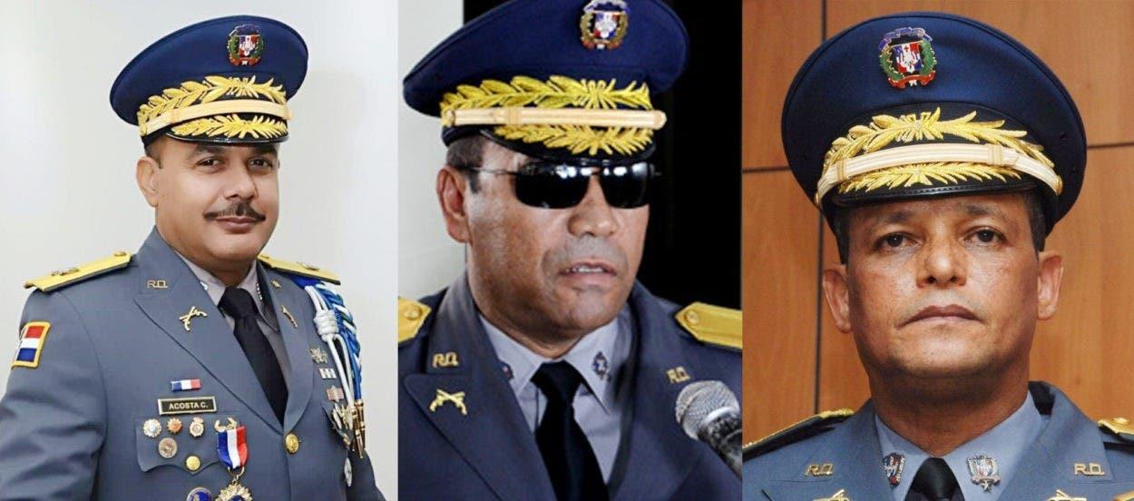 Abinader retira cinco generales Policía