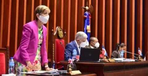 Senadora critica PRM ratificara a Eduardo