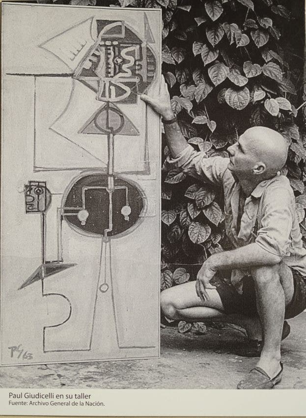 """La muestra se titula """"Paul Giudicelli: 100 años. Obras del Museo Bellapart"""" y permanecerá hasta el  11 de julio de 2021."""