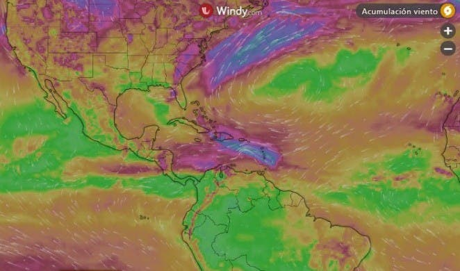 Huracán Elsa se dirige hacia RD y Haití