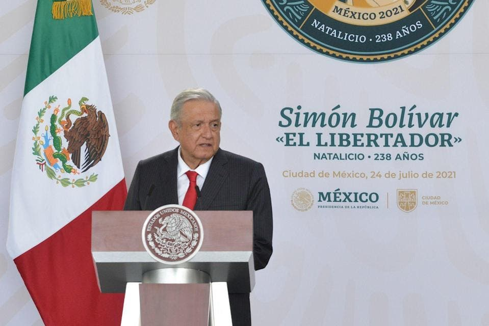 """López Obrador pide crear en AL """"algo semejante"""" a UE"""