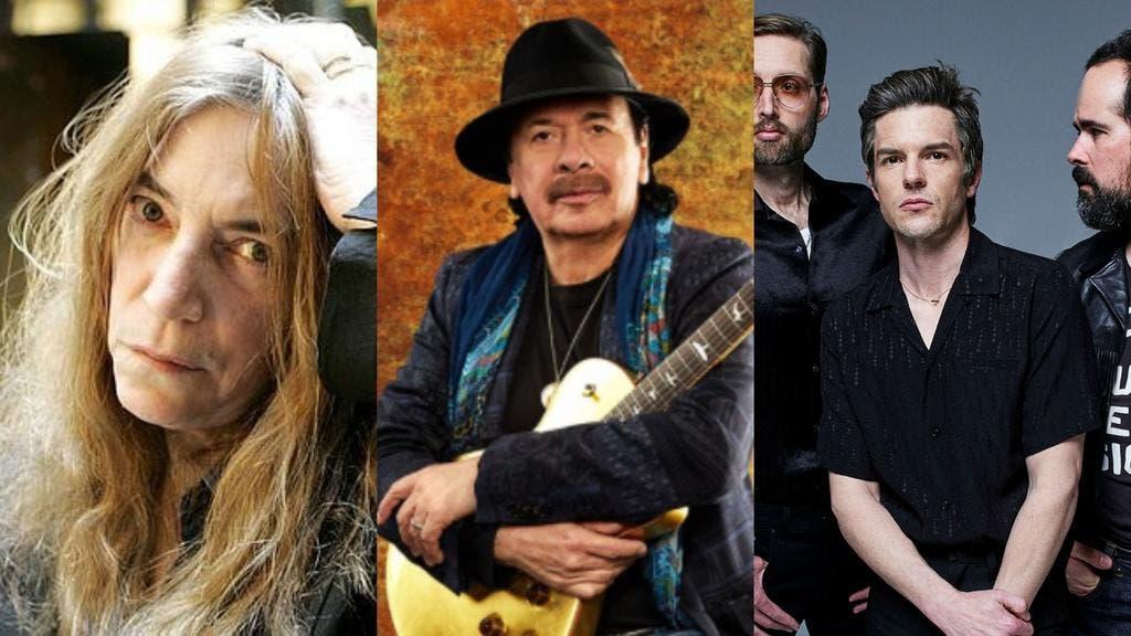 Carlos Santana y The Killers se unen a concierto NY