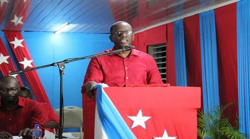 Pierre jura como primer ministro de Santa Lucía