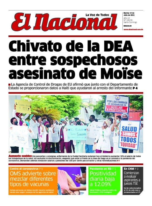 Impreso martes 13 de julio 2021