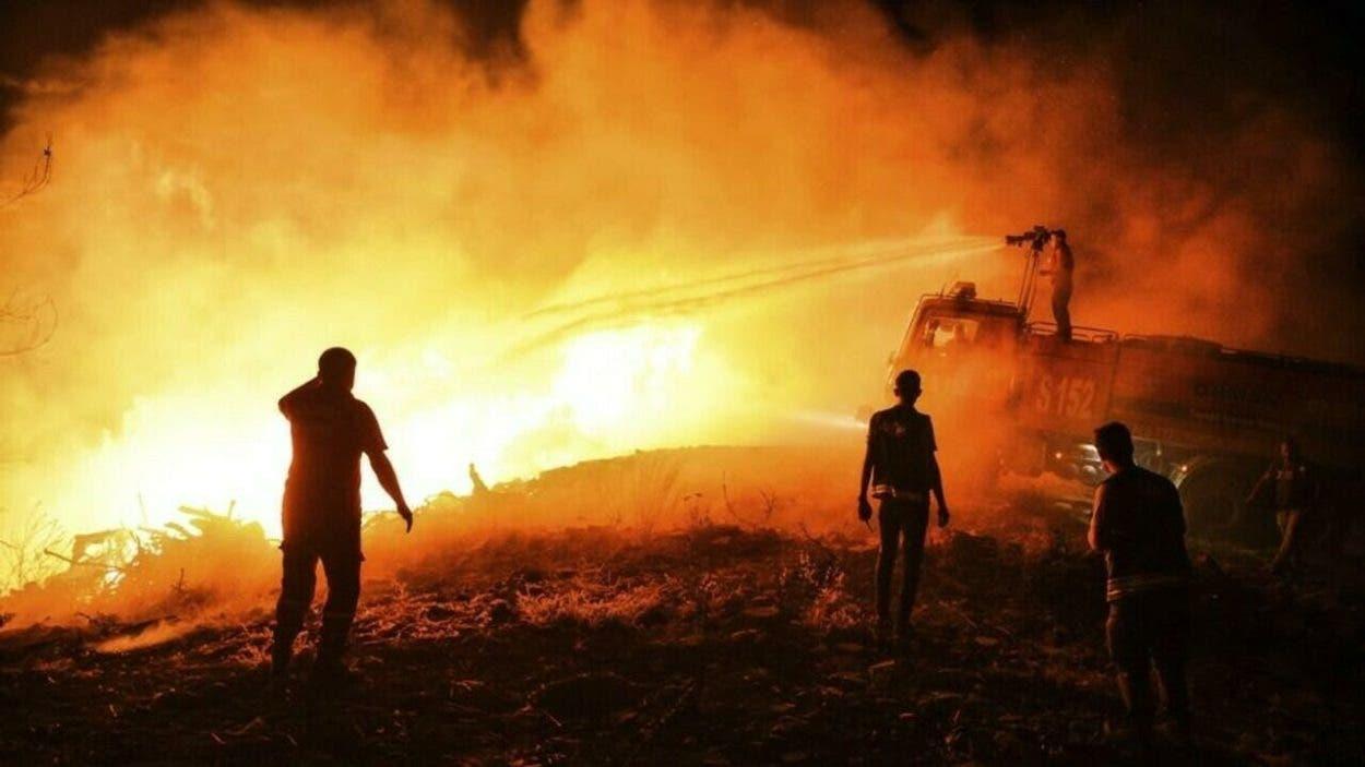 Suben a seis los muertos en incendios en Turquía