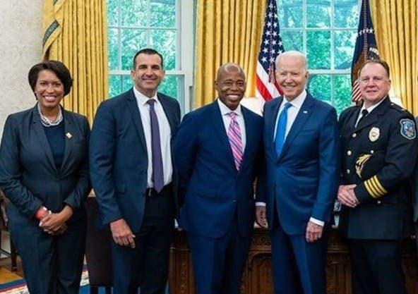 Valora invitación presidente Biden a Eric Adams