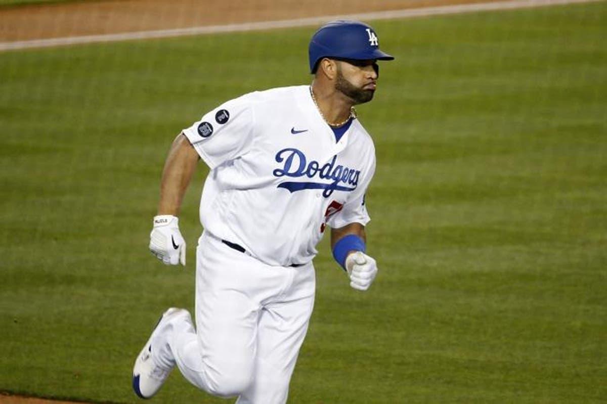 Albert Pujols guía a los Dodgers en barrida de siete juegos