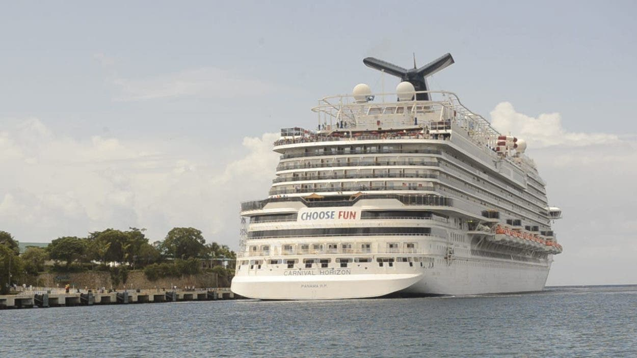 La Romana recibe primer crucero tras pandemia