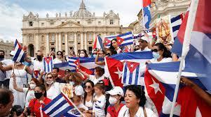 Papa llama al diálogo en Cuba
