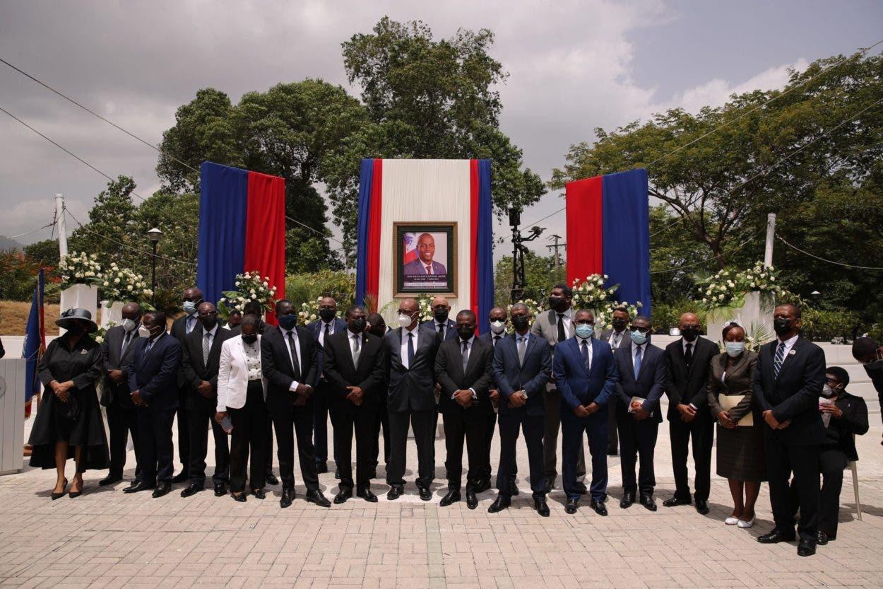 Gobierno haitiano rinde homenaje a Jovenel Moise