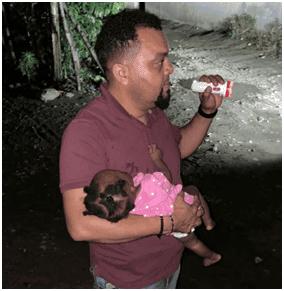 Recuperan niña raptada por padrastro