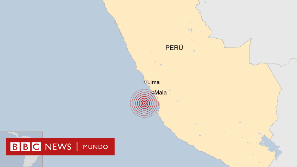 Fuerte sismo de 6,1 sacude a Perú, no causa daños