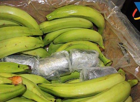 Incautan en Francia 416 kilos de cocaína en cajas de plátanos de Colombia