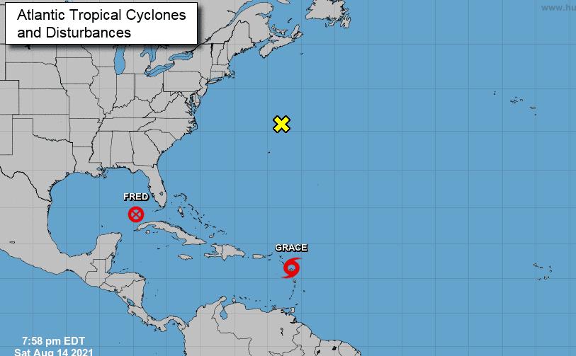 COE coloca en alerta a todo el país ante paso tormenta Grace