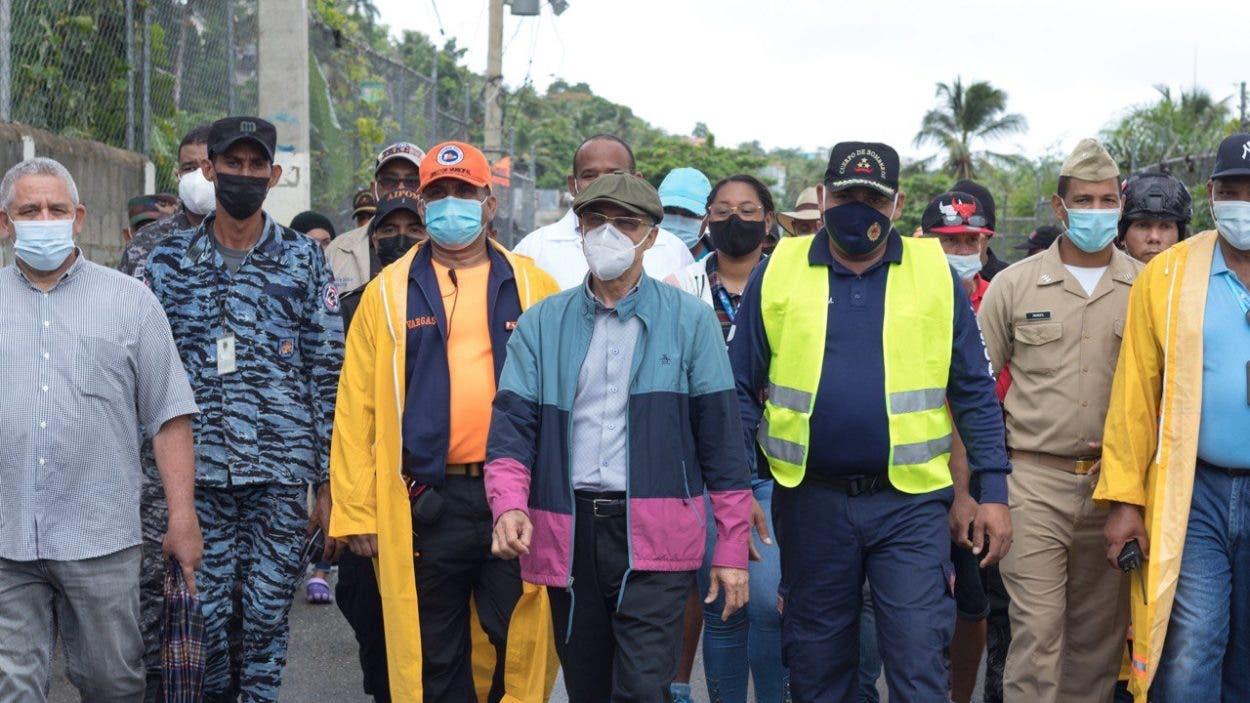 Alcalde Manuel Jiménez anuncia intervención de avenida Barceló afectada por derrumbe