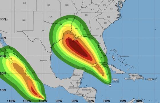 Caribe: Depresión tropical amenaza convertirse en huracán