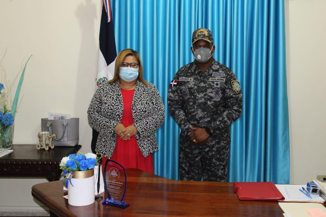 Policía y Gobernación de Azua unen esfuerzos contra delincuencia