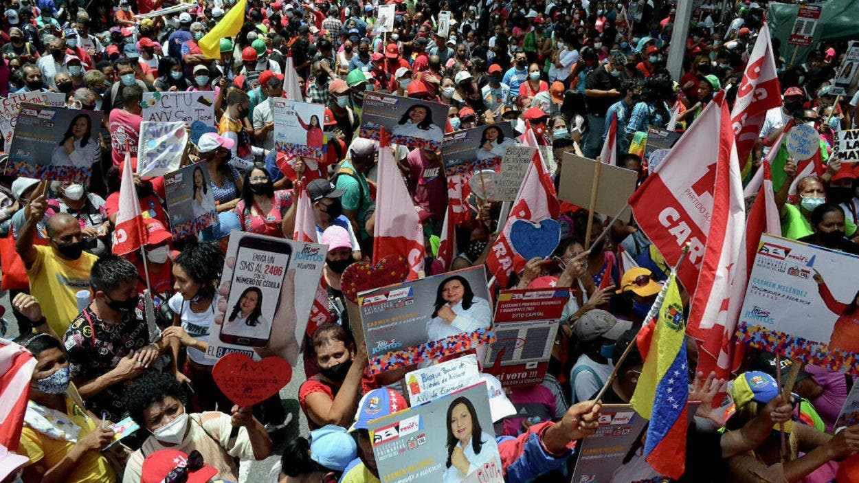 El chavismo se prepara para unas primarias este domingo