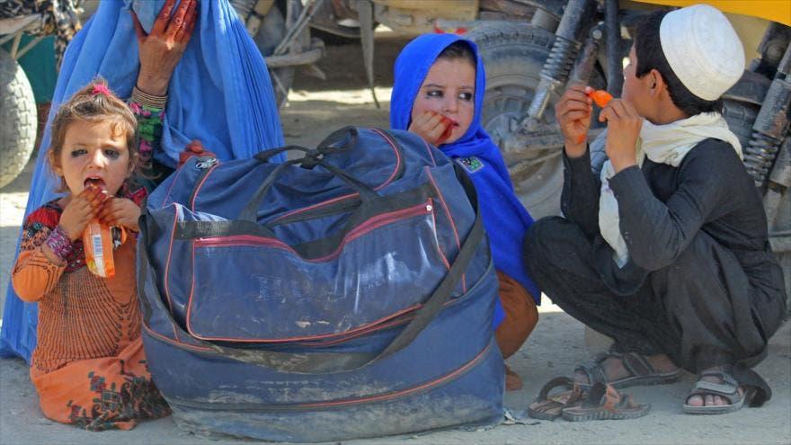 OMS dice sólo tiene material médico en Afganistán para una semana