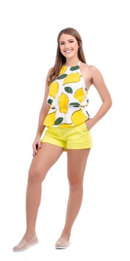 Look amarillo neón