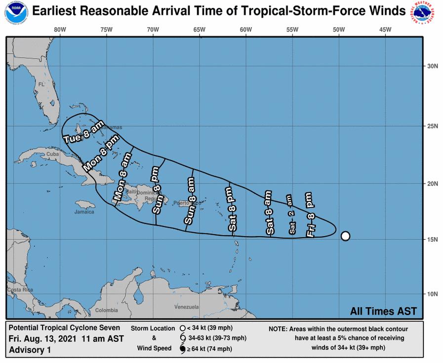 Fin de semana largo,  lluvias y amenaza de otro ciclón a R.D