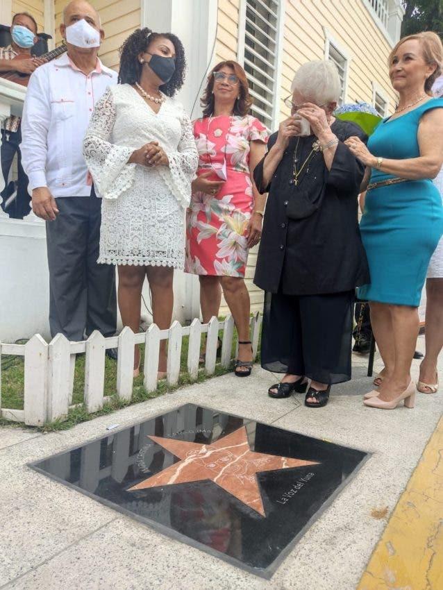 María Cristina tiene su estrella en La Voz del Yuna