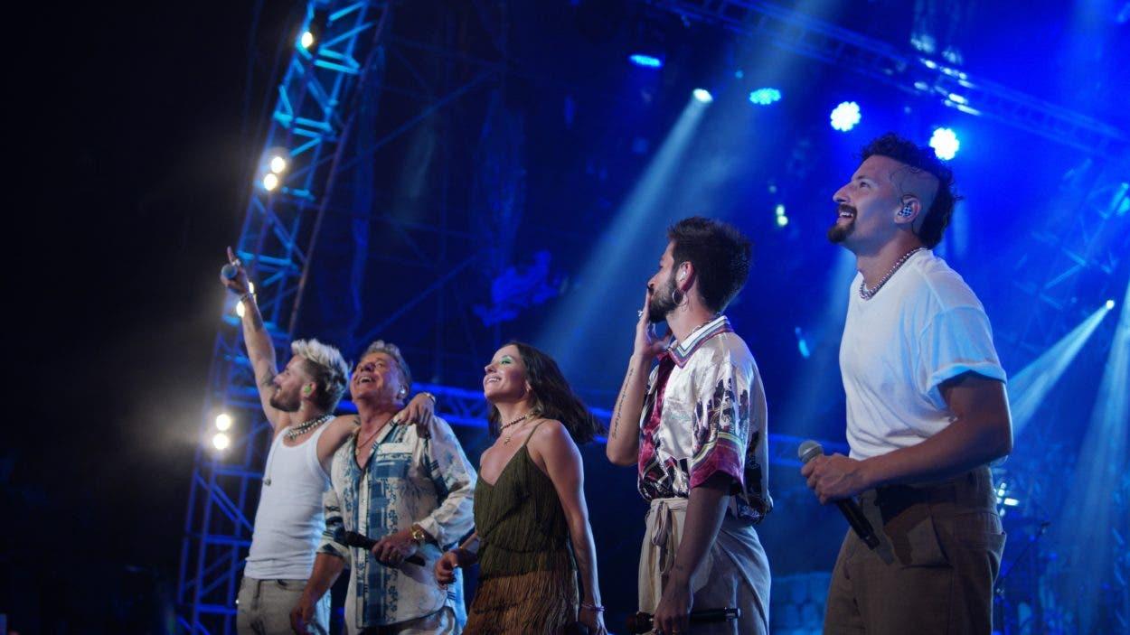 Una noche especial para los Montaner en Chavón