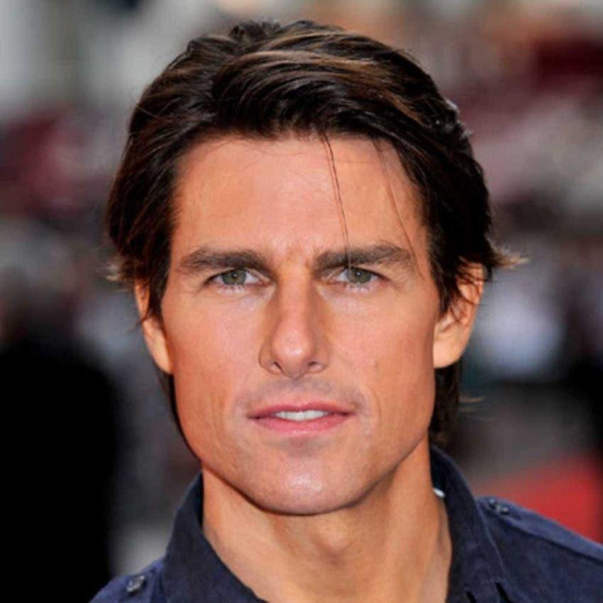 Tom Cruise es obligado aterrizar en jardín