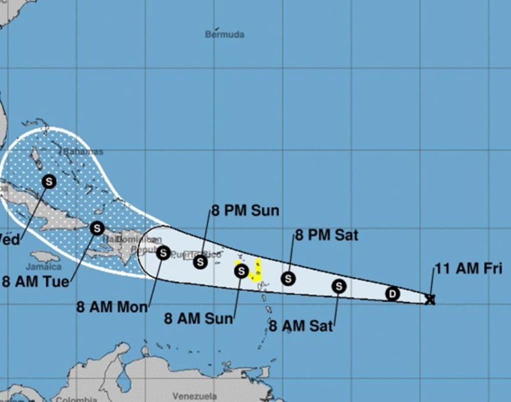 Onamet estima que este fenómeno podría convertirse en ciclón en las próximas horas.