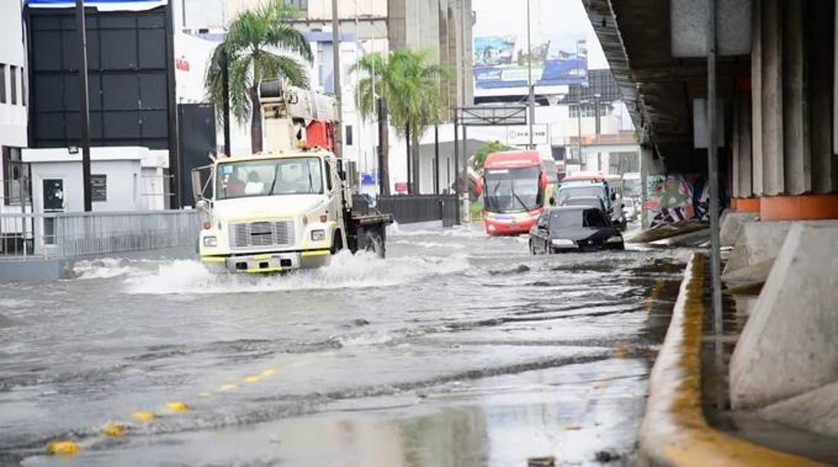 Lluvias de Fred afectan 301 mil personas en RD