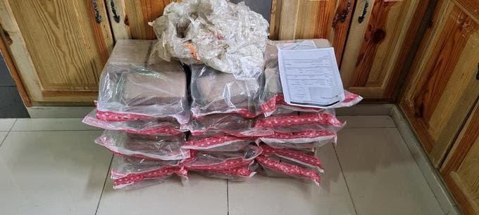 Ocupan 90 paquetes de cocaína en Los Pilones
