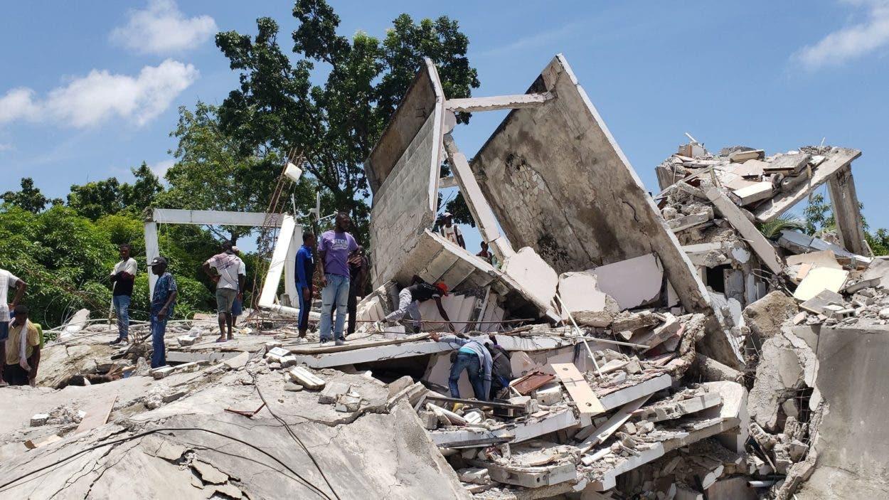 Gobierno haitiano llama a la unidad para enfrentar daños por el terremoto