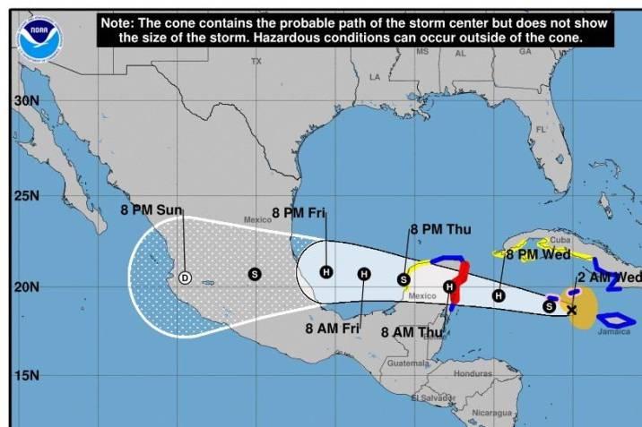 Grace es ya el segundo huracán de 2021 en el Atlántico