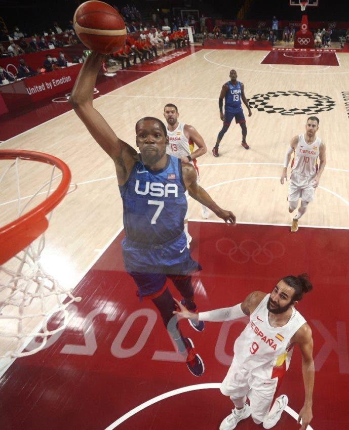 Durant y EEUU eliminan a España en basket Tokio
