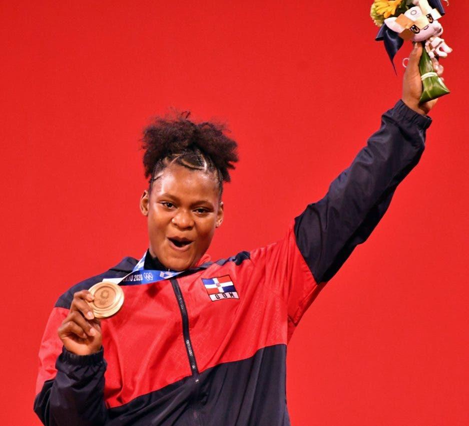 Crismery Santana ganó bronce para la historia