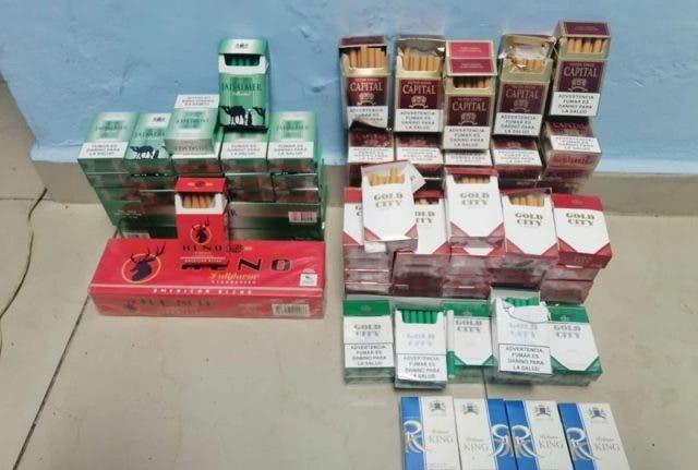 Decomisan 12,042 cigarrillos falsificados
