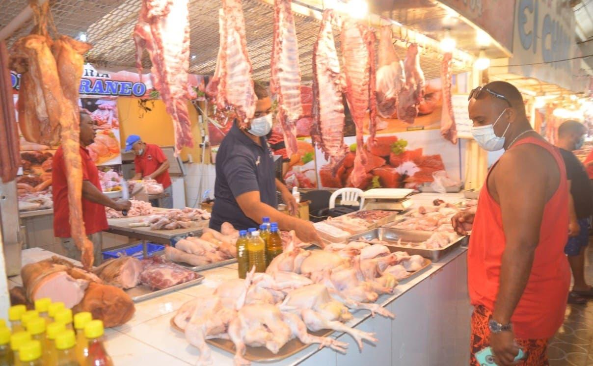 Libra de pollo sigue entre 75 y 80 pesos