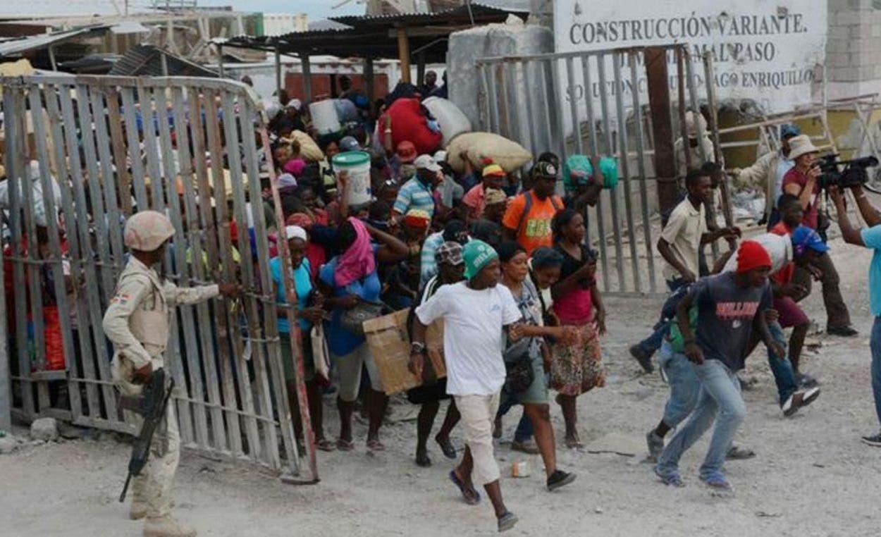 Los haitianos tienen necesidades, pero…