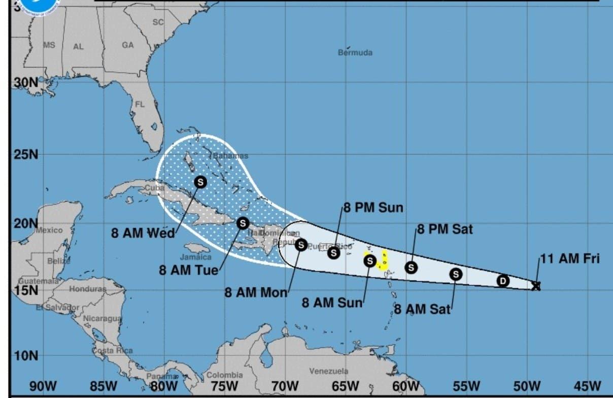 Vigilan fenómeno es potencial ciclón 7