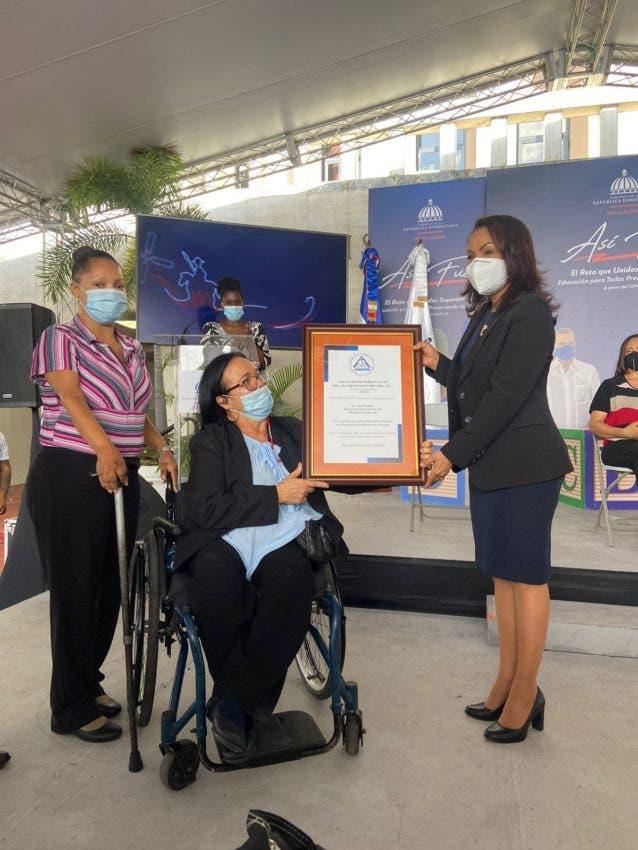 Educación Especial dice cierra con «grandes logros» año escolar para discapacitados