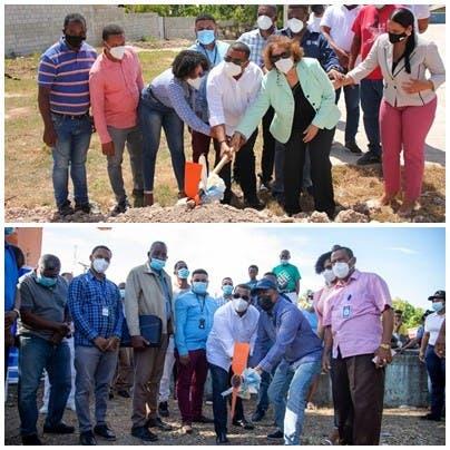 Alcaldía de Barahona inicia obras en Palmarito y Sávica por más de 7 millones