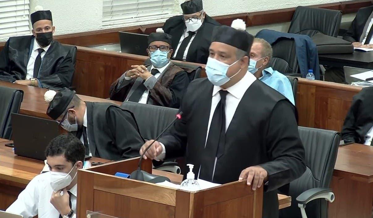 Díaz Rúa ve pobre acusación del MP