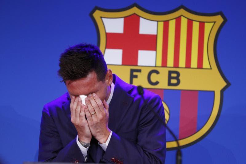 Messi: «No estaba preparado para marcharme» del Barcelona