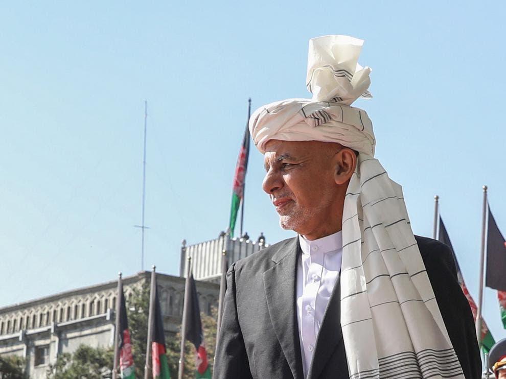"""Presidente afgano dice que se marchó para evitar """"un derramamiento de sangre»"""