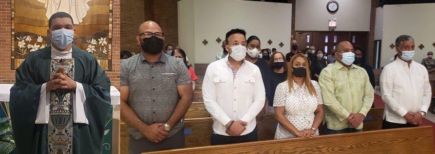 Asistencia masiva a misa doña Yolanda en NY