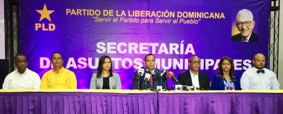 PLD denuncia LMD discriminan alcaldes del partido morado